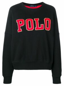 Polo Ralph Lauren casual logo sweatshirt - Black