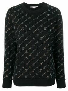 Stella McCartney logo sweatshirt - Black