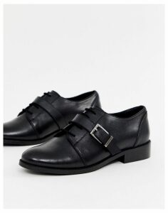 Park Lane leather brogues-Black