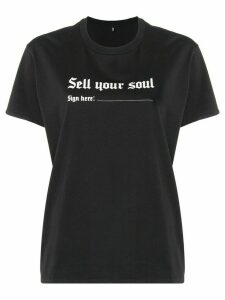 R13 Sell Your Soul T-shirt - Black