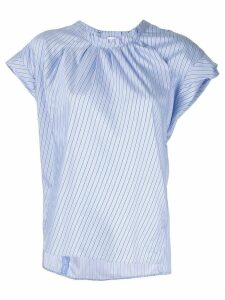 3.1 Phillip Lim striped round neck T-shirt - Blue