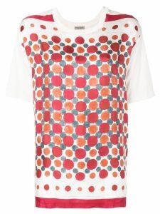 Bottega Veneta printed round neck T-shirt - White