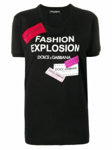 Dolce & Gabbana Fashion Explosion T-shirt - Black