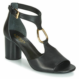 Lauren Ralph Lauren  ELESIA  women's Sandals in Black