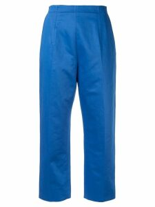 Marni cropped tapered trousers - Blue