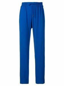 Kenzo high rise tapered trousers - Blue