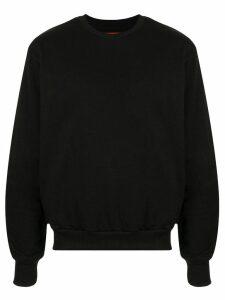Strateas Carlucci Carbon Silhouette sweatshirt - Black