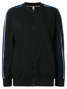 No Ka' Oi side stripe track jacket - Black