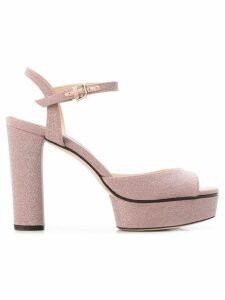 Jimmy Choo Peachy sandals - Pink