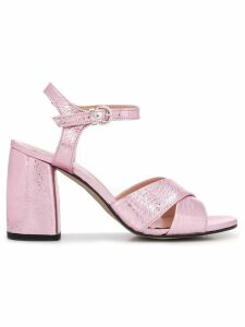 Pollini ankle strap sandals - Pink