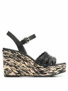 Prada wedge sandals - Black