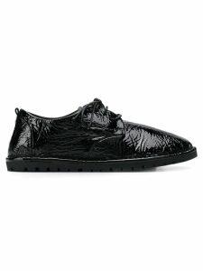 Marsèll crinkled Sancrispa oxford shoes - Black