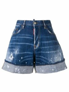 Dsquared2 Kawaii denim shorts - Blue