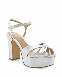 Schutz Women's Keefa High-Heel Platform Sandals