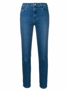 J Brand cropped slim-fit jeans - Blue