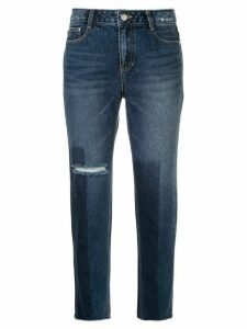 SJYP washed straight leg jeans - Blue