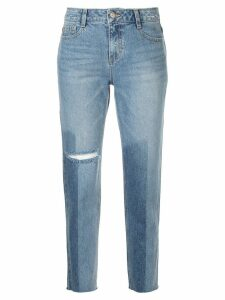 SJYP washed straight jeans - Blue