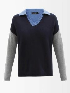 Isa Arfen - Ponza Gingham Organza Blouse - Womens - Brown Multi