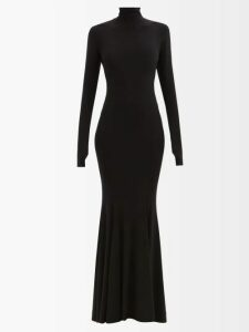Peter Pilotto - Asymmetric Striped Silk-blend Lamé Top - Womens - Gold Multi