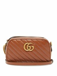 Prada - Stripe And Wave Intarsia Cashmere Sweater - Womens - Orange Multi
