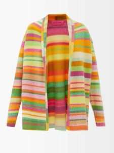 Pepper & Mayne - Dolce Polka Dot-print Chiffon Wrap Top - Womens - Black White