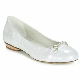 Dorking  7859  women's Shoes (Pumps / Ballerinas) in Silver