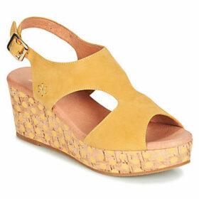 Mam'Zelle  PERLO  women's Sandals in Yellow