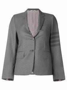 Thom Browne 4-Bar tailored blazer - Grey