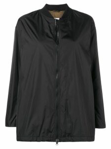 Aspesi zipped bomber jacket - Black