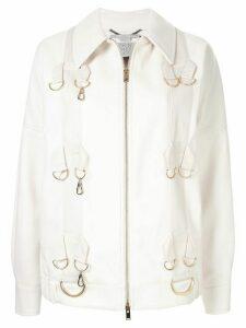 Stella McCartney hoops jacket - White
