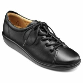 Hotter  Dew Womens Casual Lace-Up Shoe  women's Casual Shoes in Black