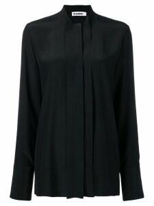 Jil Sander classic longsleeved blouse - Black