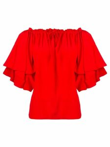Diane von Furstenberg Georganne blouse - Red