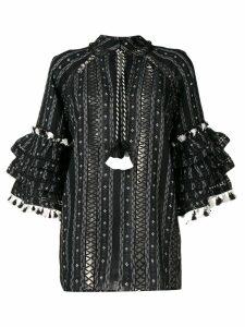 Dodo Bar Or Tatiana ruffle blouse - Black