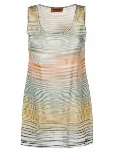 Missoni striped tank top - Yellow