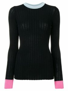 Nº21 open back jumper - Blue