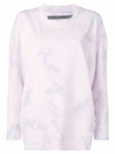 Raquel Allegra tie-dye jumper - PURPLE