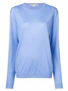 Stella McCartney fine knit sweater - Blue