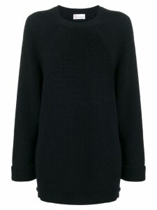 Red Valentino Crew knit with long sleeves - Blue