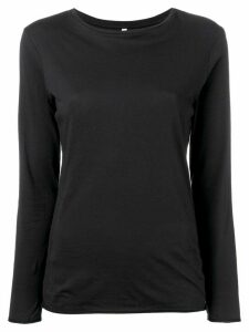 Bellerose long-sleeve fitted top - Black