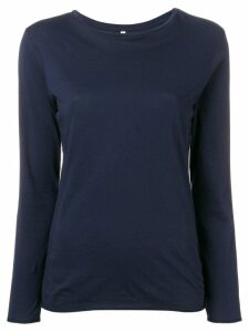 Bellerose long-sleeve fitted top - Blue