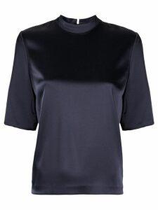 Nanushka silky blouse - Blue
