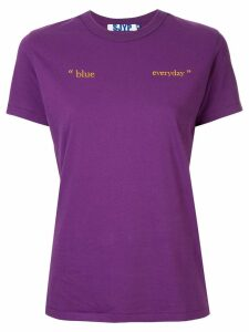 SJYP Everyday T-shirt - PURPLE