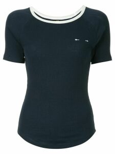 The Upside side stripe T-shirt - Blue