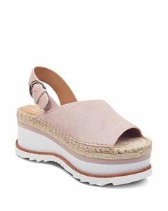 Marc Fisher Ltd. Women's Quint Suede Platform Sandals