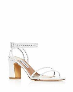 Tabitha Simmons Women's Leticia Scallop Trim High-Heel Sandals