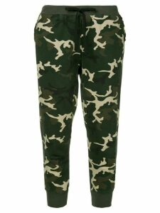 The Upside camouflage loungewear trousers - Green