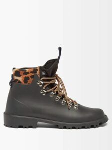 Barrie - Arran Pop Cashmere-blend Sweater - Womens - Black