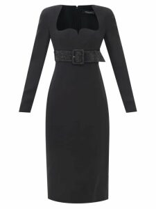 Barrie - Arran Pop Cashmere-blend Sweater - Womens - Navy