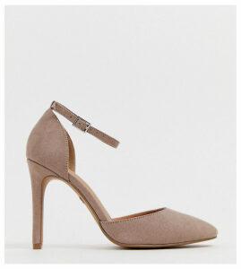 ASOS DESIGN Wide Fit Playground high heels